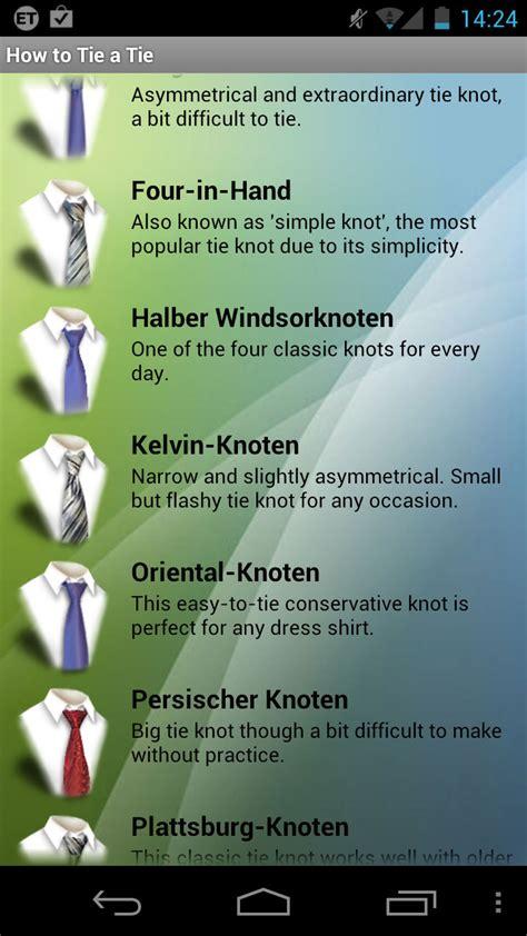 ähnliche App Wie by Wie Eine Krawatte Bindet Android App Chip