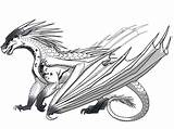 Wings Fire Coloring Dragon Dragons Wattpad Edits Complete Pages Ice Cool Colored Fans Quiz Adults sketch template