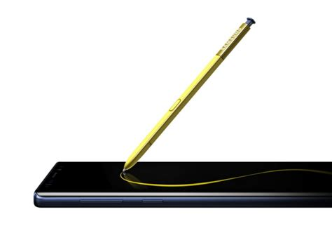 All New S Pen Features For The Samsung Galaxy Note 9