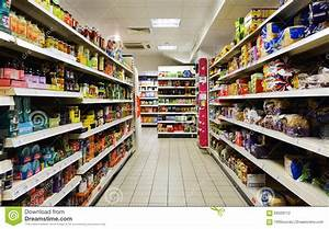 Supermarket Aisle View editorial photography. Image of ...