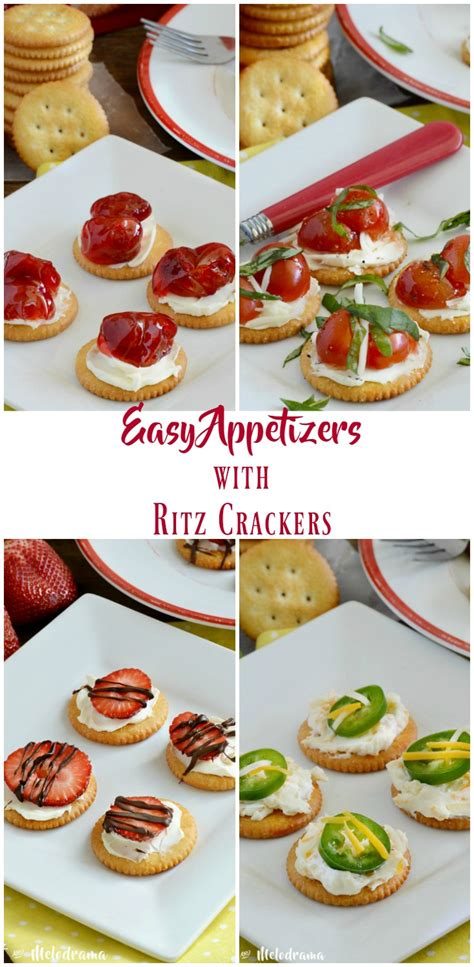 4 easy appetizers with ritz crackers meatloaf and melodrama