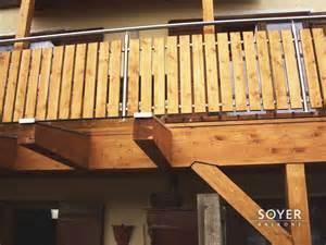 gewa balkone balkon aus holz und edelstahl bvrao