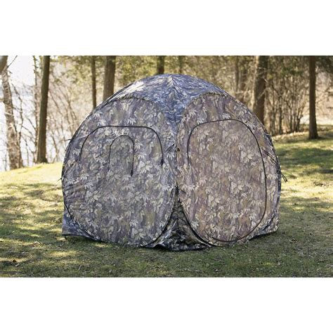 pop up blind guide gear 174 pro series pop up blind 119481 ground