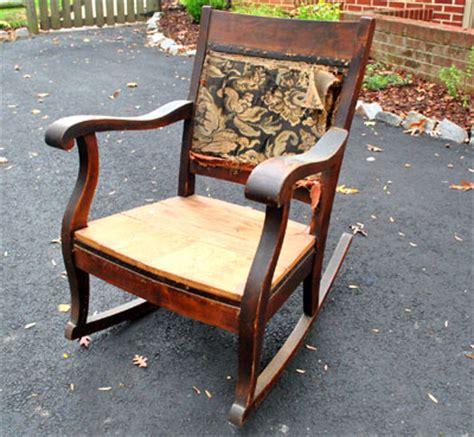 redoing an rocking chair part 1 house