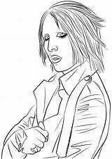 Marilyn Manson Coloring Colorear Dibujos Dibujo Rock Printable Monroe Colorare Disegni Disegno Pop Colorir Sheets Imprimir Supercoloring Cantanti Adolescentes Famosi sketch template