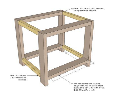 free simple end table plans rustic end table woodworking plans woodshop plans