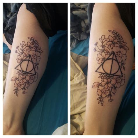 harry potter tattoo harrypotter