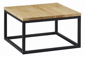 Petite Table Basse : petite table basse metal ekipia ~ Teatrodelosmanantiales.com Idées de Décoration