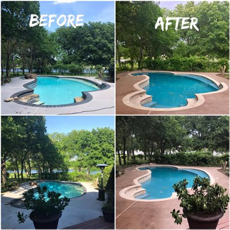 swimming pool remodel swimming pool renovation remodeling contractor complete solutions flower mound tx