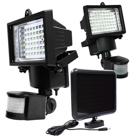 led security flood light led solar powered motion sensor security flood light