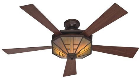 Hunter 1912 Mission Ceiling Fan 21978 In Bronze