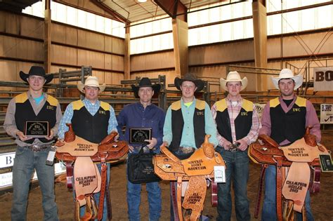 ewc mens rodeo team wins regional title eastern wyoming college