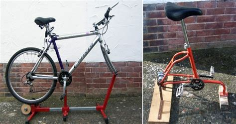Modified Bicycle Exercise by Eco Gadgets Diy Exercise Bikes Keep You Fit And Generate