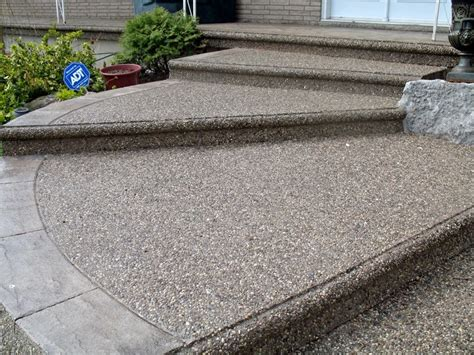 All About Exposed Aggregate Concrete  Daily Do It Your Self. Heritage Cabinets. L Shaped Kitchens. Pantry Cabinets. Achillea Millefolium. Turquoise Kitchen Cabinets. Contemporary Bedroom Furniture. Round Fireplace. Gray And Beige Bedroom