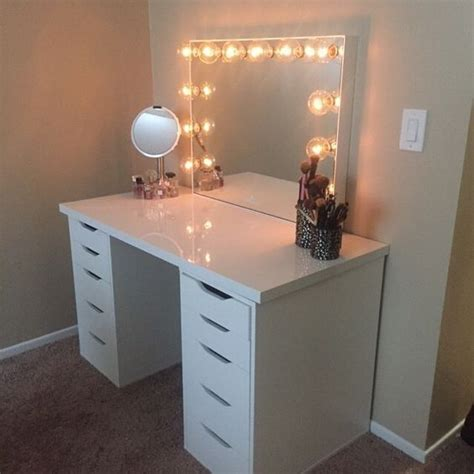 makeup desk ikea alex the o jays drawers and happy on