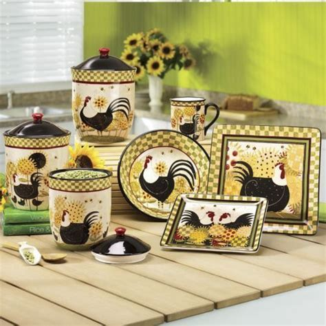 Rooster Dinnerware Pieces from Seventh Avenue ®   Roosters