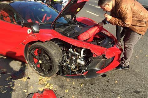 Updated Laferrari Crash Driver Loses Control In Budapest