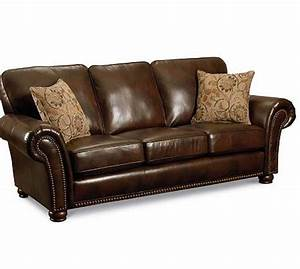Lane benson 630 sofa sleeper in faux leather for Lane leather sectional sleeper sofa