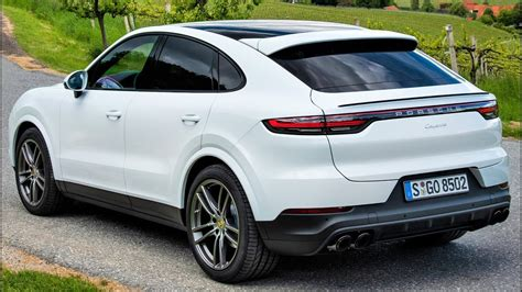 2020 porsche suv 2020 white porsche cayenne coupe luxury performance suv