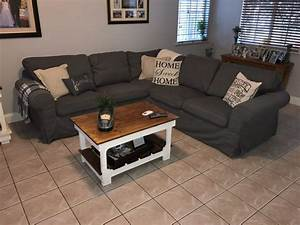 ikea ektorp sectional sofa review city2farmhouse With ikea sofa reviews
