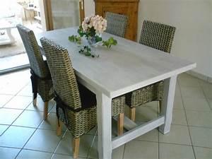 fabriquer sa table de salle a manger maison design With fabriquer sa table de cuisine