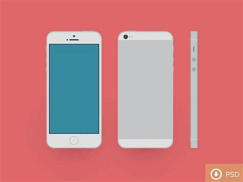 iphone 5s free 100 iphone psd vector mockups design shack