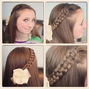 6 Lovely Nice Simple Hairstyles For School | harvardsol.com