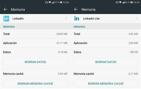 linkedin lanza su versi 243 n lite para android