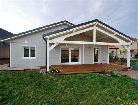 maison 3 chambres plain pied maison bois plein pied nos maisons ossatures bois maison