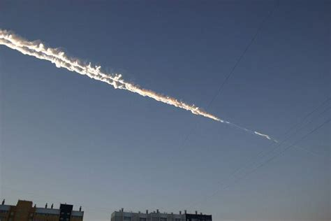 Meteor Explosion From Space