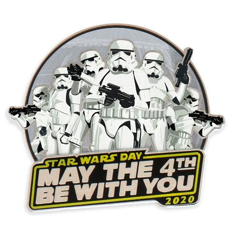 Star Wars Day: ''May The 4th Be With You'' Pin 2020 ...