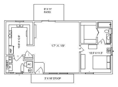 cambridge  home tiny house floor plans  house plans  bedroom house