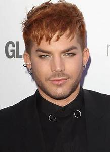 Celebrity Hairstyle News: Check Out Adam Lambert's New Red ...