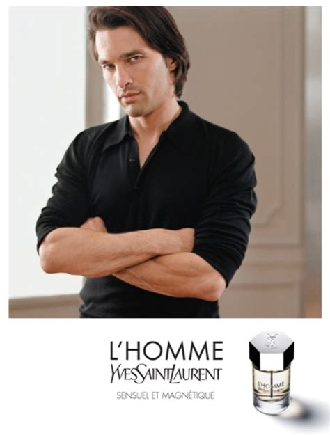 yves laurent l homme 2006 modern in a museum