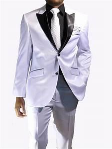 Costume Homme Mariage Blanc : costume mariage homme noir et blanc le mariage ~ Farleysfitness.com Idées de Décoration