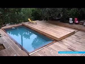 terrasse mobile posee a cap ferret octavia terrasses With piscine sur terrasse bois