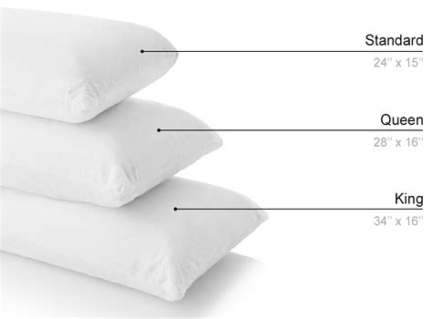 standard pillow size solid organic pillow