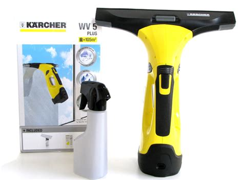 karcher wv 5 plus recheargeable window vacuum cleaner