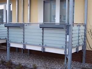 Sichtschutz Balkon Glas : metallbau grebien gmbh fehmarn ~ Indierocktalk.com Haus und Dekorationen
