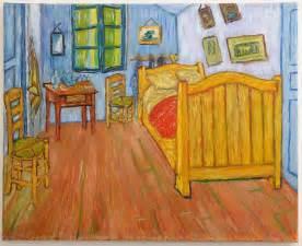 Chambre De Gogh Tableau tableau contemporain int 233 rieur sur toile upside art la
