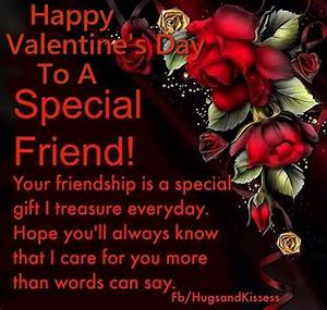 Happy Valentines Day To A Special Friend Pictures, Photos ...