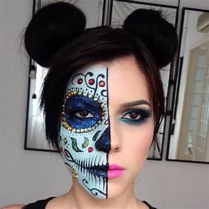 Maquillage Squelette Facile : maquillage squelette mexicain femme facile ~ Dode.kayakingforconservation.com Idées de Décoration