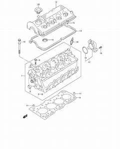Cylinder Head For 0 Suzuki Jimny Sn413q