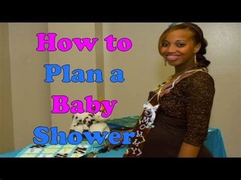 how to plan a baby shower how to plan a baby shower