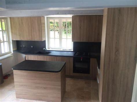 placage meuble cuisine cuisine bois et ardoise rsine tableau noir ardoise