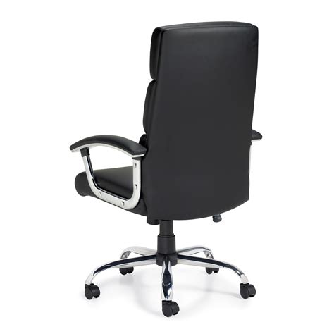 Office Chairs Seattle by Otg High Back Luxhide Segmented Cushion Office Chair