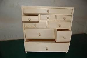 Petit Meuble En Bois : petit meuble de rangement 9 tiroirs en bois en bois boissellerie cretin ~ Teatrodelosmanantiales.com Idées de Décoration