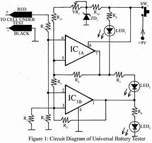 Battery Tester Wiring Diagram : universal battery tester ckt diagram electronic projects ~ A.2002-acura-tl-radio.info Haus und Dekorationen