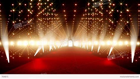 On The Red Carpet 13 Stock Animation 704815