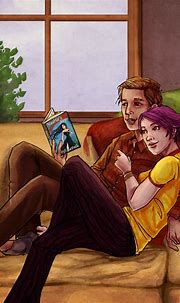 ART: Harry Potter canon couples   Remus and tonks, Tonks ...